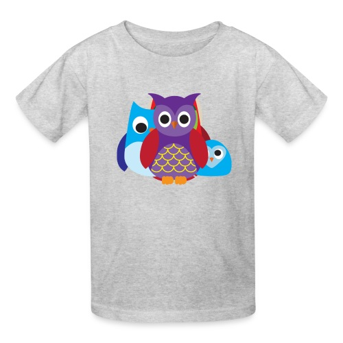 Cute Owls Eyes - Kids' T-Shirt
