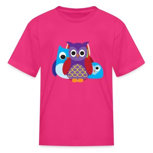 Cute Owls Eyes - Kids' T-Shirt