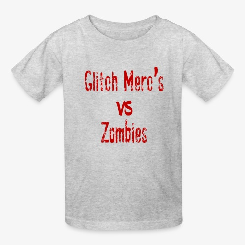 glitch zombie red - Kids' T-Shirt