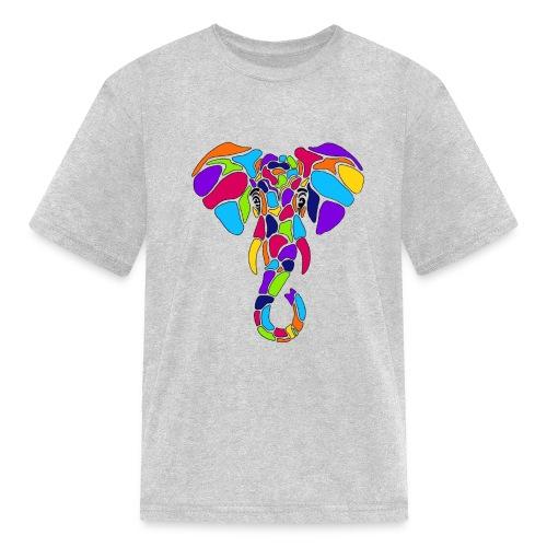 Art Deco elephant - Kids' T-Shirt