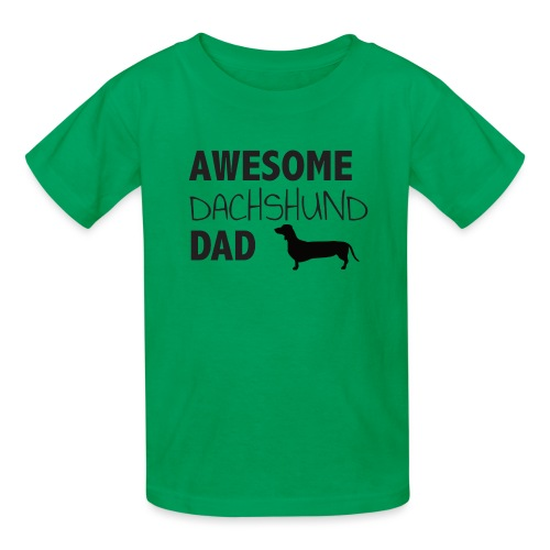 Awesome Dachshund Dad - Kids' T-Shirt