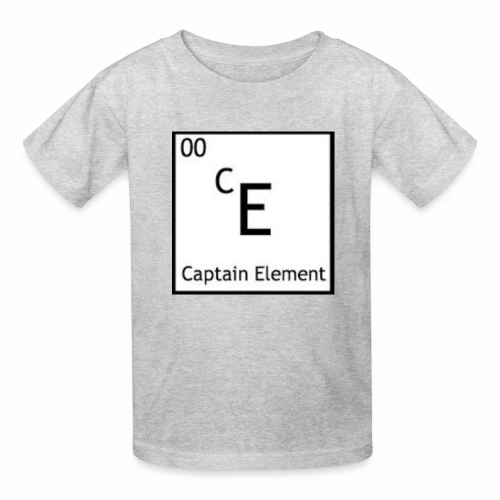 Captain Element Logo - Kids' T-Shirt