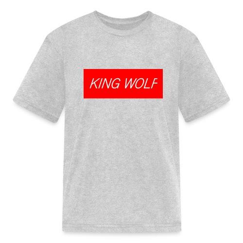 KING WOLF - Kids' T-Shirt