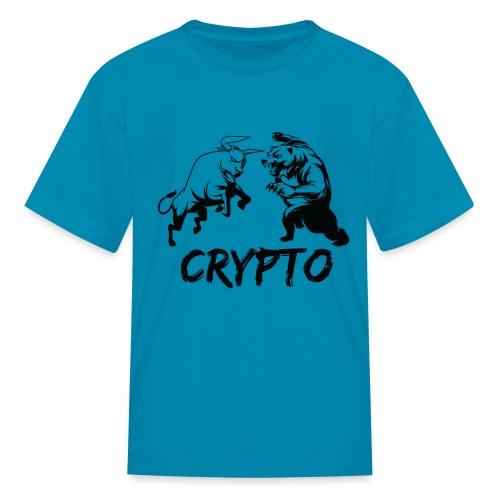 CryptoBattle Black - Kids' T-Shirt