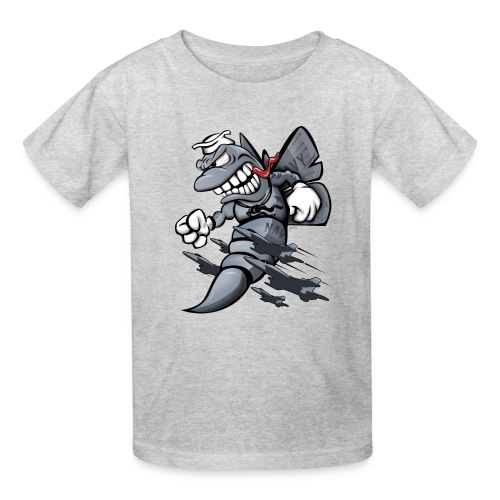 F/A-18 Hornet Fighter Attack Military Jet Cartoon - Kids' T-Shirt