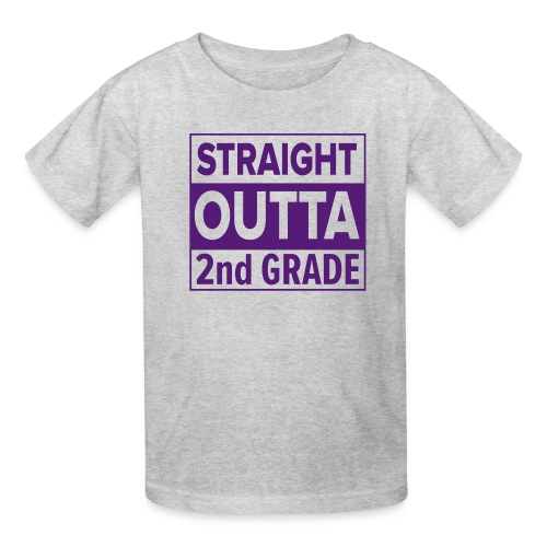 straightoutta 2nd - Kids' T-Shirt