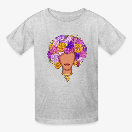 Flower Woman - Kids' T-Shirt