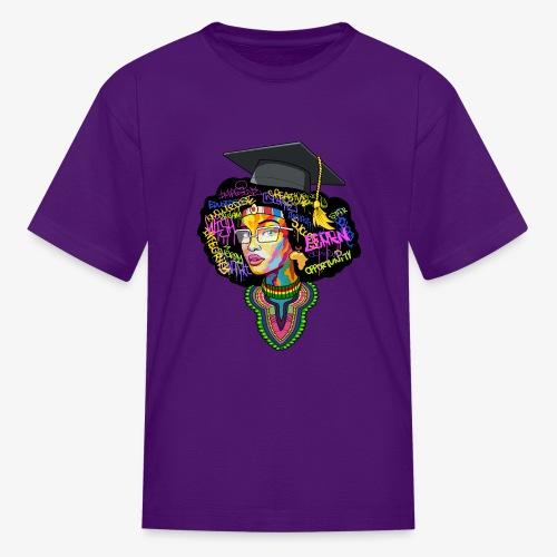 Smart Black Woman - Kids' T-Shirt