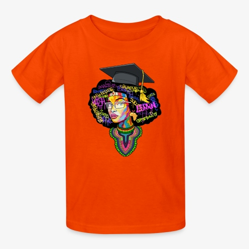 Smart Black Woman - Kids' T-Shirt