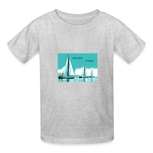 Beautiful Croatia - Kids' T-Shirt
