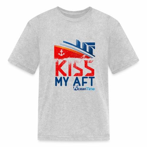 Kiss my Aft - Kids' T-Shirt