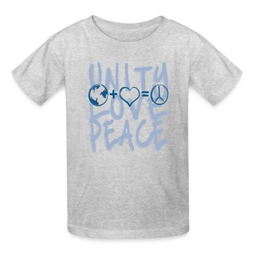 Unity Love Peace - Kids' T-Shirt