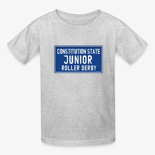 Constitution State Junior Roller Derby - Kids' T-Shirt