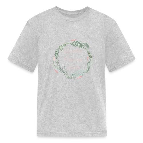LOD Flower Wreath 1 - Kids' T-Shirt