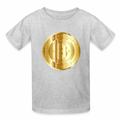 Bitcoin branding 57 - Kids' T-Shirt