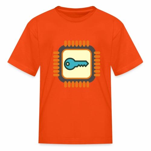 Micro Crypto Chip - Kids' T-Shirt