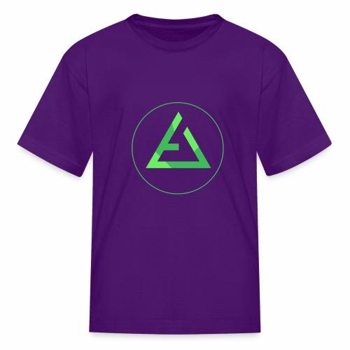 crypto logo branding - Kids' T-Shirt