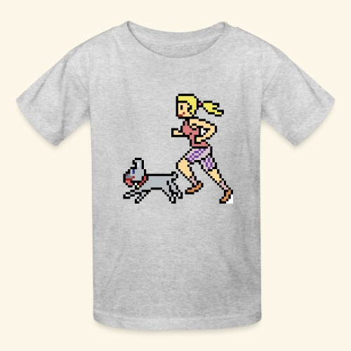 RunWithPixel - Kids' T-Shirt