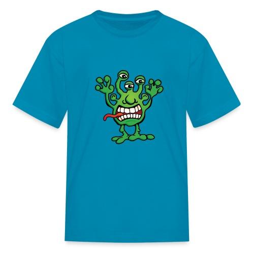Cartoon Monster Alien - Kids' T-Shirt