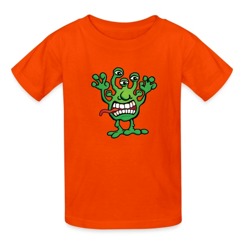 Cartoon Monster Alien - Kids' T-Shirt