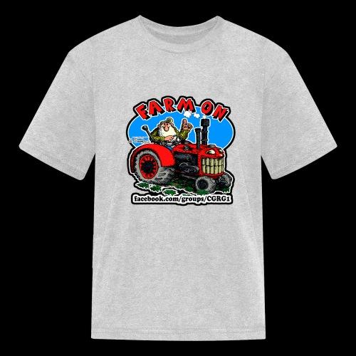Mr Natural Farm On - Kids' T-Shirt
