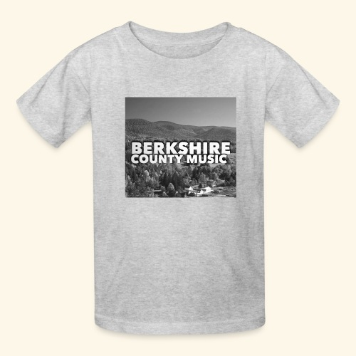 Berkshire County Music Black/White - Kids' T-Shirt