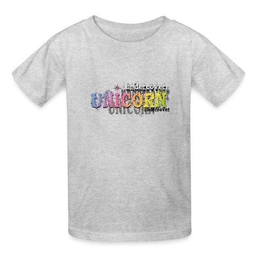 Undercover Unicorn - Kids' T-Shirt
