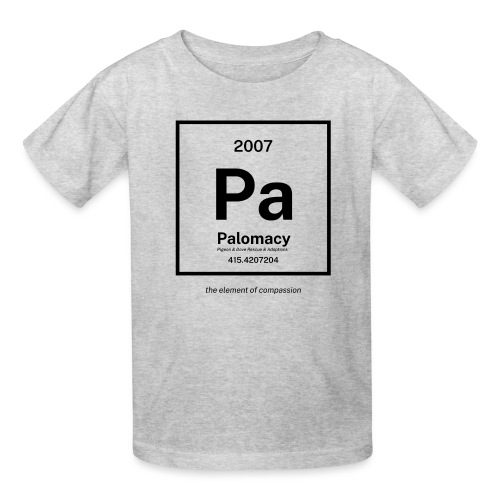 Palomacy: Element of Compassion (Black) - Kids' T-Shirt