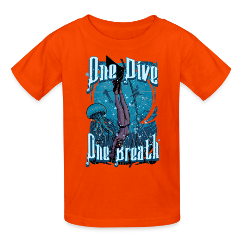 One Dive One Breath Freediving - Kids' T-Shirt