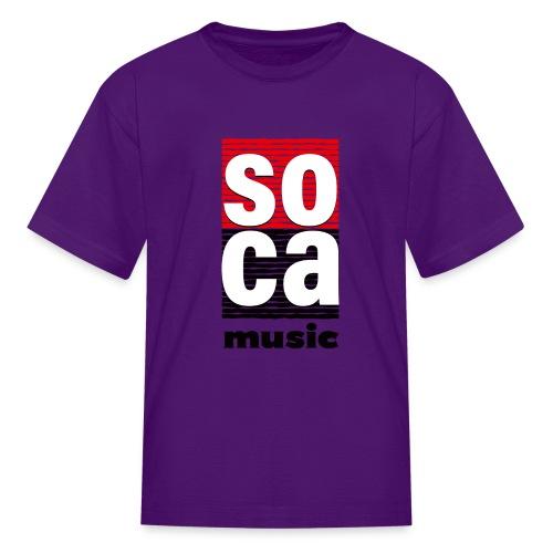 Soca music - Kids' T-Shirt