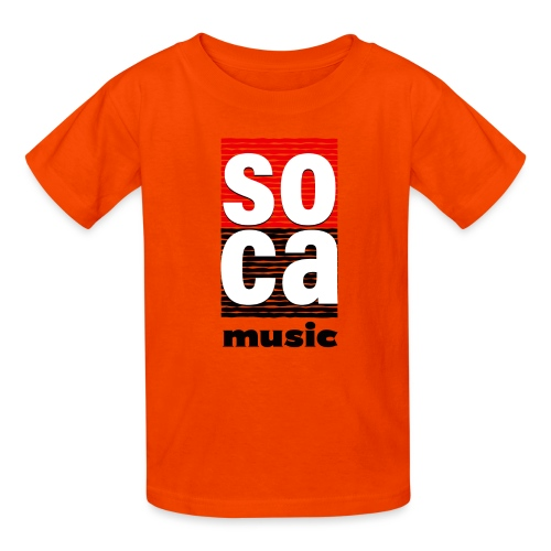 Soca music - Kids' T-Shirt
