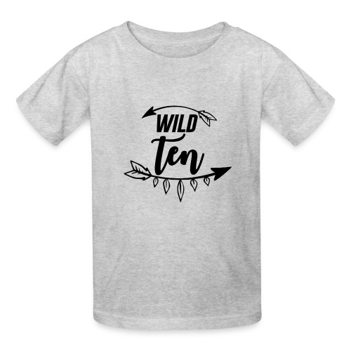 Wild One/10th Birthday Shirt/Outfit - Kids' T-Shirt