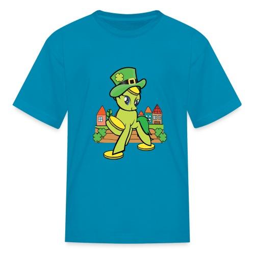 Irish Lucky Pony - Kids' T-Shirt