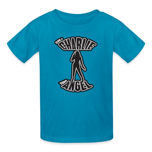 Can I Charlie Your Angel? - Kids' T-Shirt