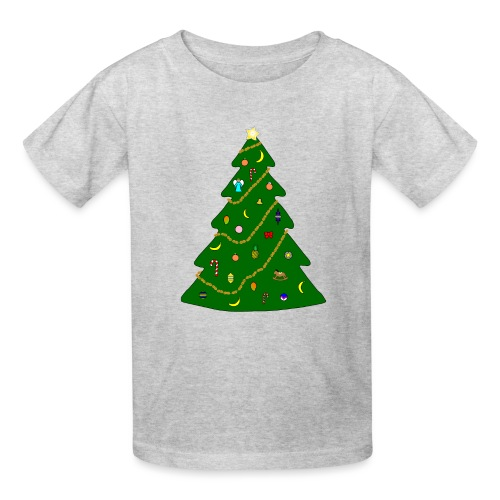 Christmas Tree For Monkey - Kids' T-Shirt