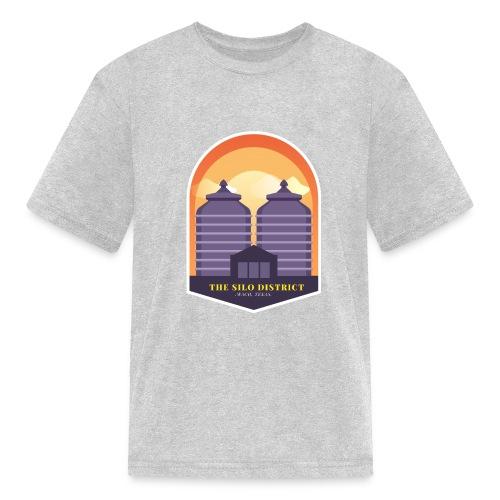 The Silos in Waco - Kids' T-Shirt