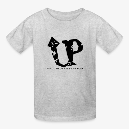 Uncomfortable Places Logo Shirt - Kids' T-Shirt
