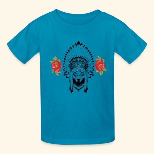 WOLF KING - Kids' T-Shirt