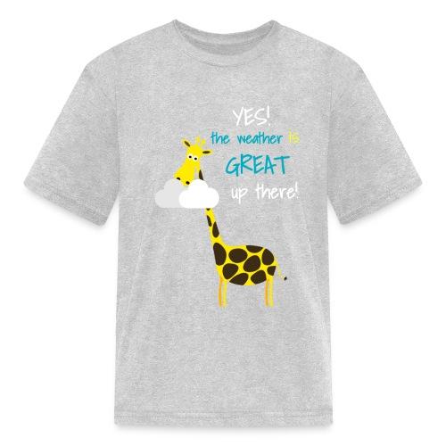 Funny Giraffe T-shirt for men women kids - Kids' T-Shirt