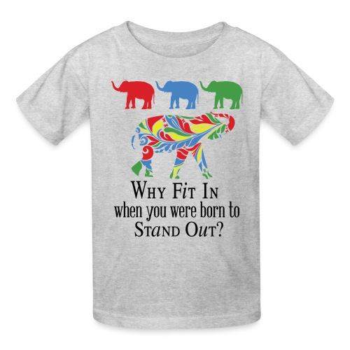 Why Fit In? - Kids' T-Shirt