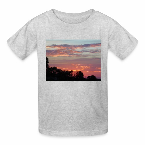 Sunset of Pastels - Kids' T-Shirt