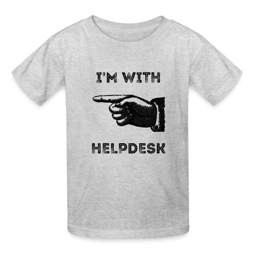 I'm With Helpdesk - Kids' T-Shirt