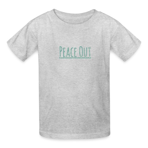 Peace Out Merchindise - Kids' T-Shirt