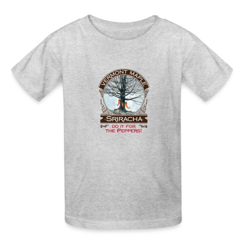 Vermont Maple Sriracha - Kids' T-Shirt