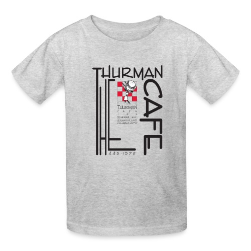 Thurman Cafe Traditional Logo - Kids' T-Shirt