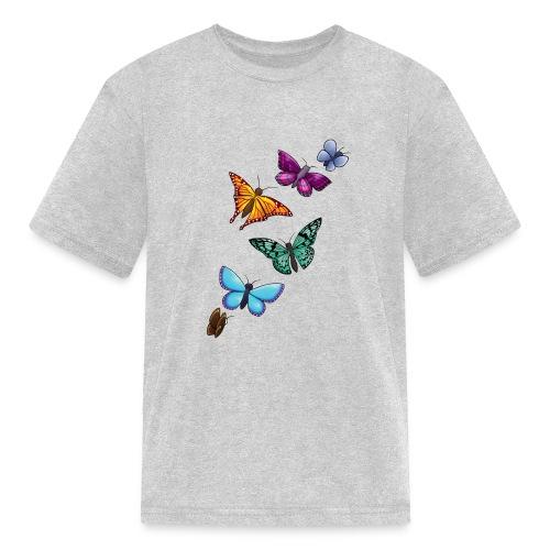 butterfly tattoo designs - Kids' T-Shirt