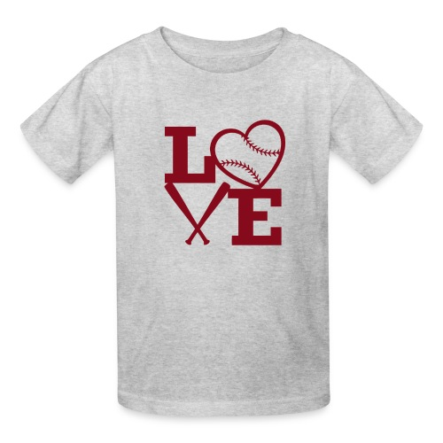Love baseball - Kids' T-Shirt