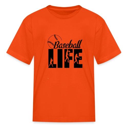 Baseball life - Kids' T-Shirt