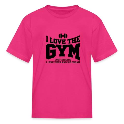 I love the gym - Kids' T-Shirt
