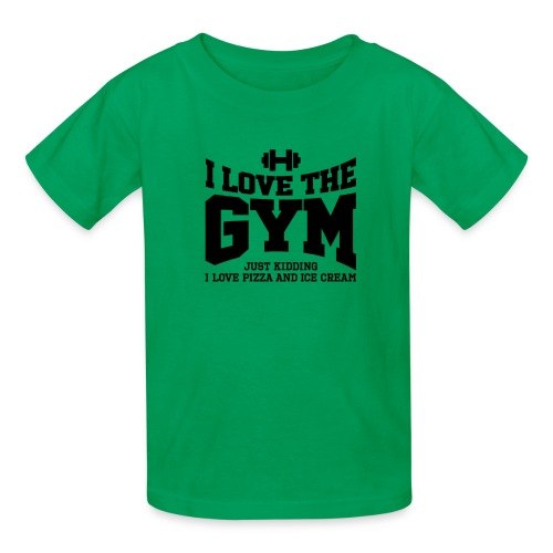 I love the gym - Kids' T-Shirt